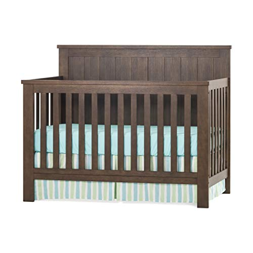 Why Should You Buy Child Craft Calder 4-in-1 Convertible Baby Crib, Brushed Brown Finish