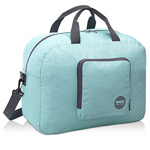 Foldable Duffle Bag 25L, Super Lightweight Travel Duffel for Luggage Sports Gym Water Resistant by WANDF