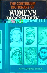 The Continuum Dictionary of Women's Biography