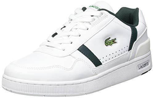 Lacoste Sport Damen T-Clip 0721 2 SFA Sneaker, Wht/Dk Grn, 39 EU