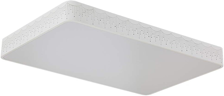 Venta en línea precio bajo descuento Lámpara De Techo Techo Techo Led Moderna Minimalista Rectangular Sala De Estar Dormitorio Iluminación Araa,30  30Cm, Luz blancoa  n ° 1 en línea