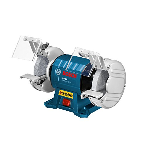 Bosch Professional GBG 6, 350 W Nennaufnahmeleistung, 150 mm Schleifscheiben-Ø, 20 mm Schleifscheibenbreiten, Schleifscheiben Körnung 24 / 60