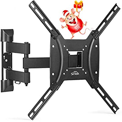 """SIMBR TV Wall Mount Bracket for Most 17""""-55"""" LE..."""