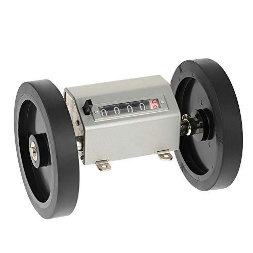 Längenzähler mit Rollenrad 5-stelliger Meterzähler 0-9999.9 Rollenzähler zur Längenmessung