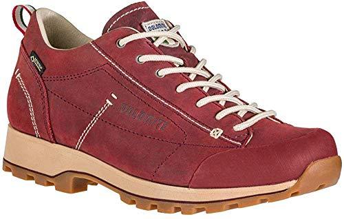 Dolomite Damen Zapato Cinquantaquattro Low Fg W GTX Sneaker, Burgunder-Rot, 38 EU