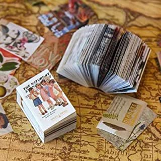 Memo Pads - 200pcs Times Illustrated Series Matchbox Memo Pad Creative Scrapbook Diary Decoration journal Note Stationery...