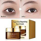 Eye Cream Hexapeptide Essence Repair Moisturizing Nourishing Anti-aging - Remove Eye Bags Dark Circles Anti-wrinkle Anti-puffiness, Anti-Swelling, Fade Fine Lines, Fatty Grains, Black Rim of Eye