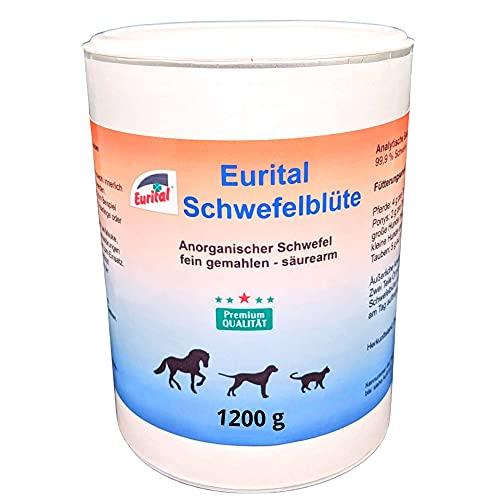 Eurital Schwefelblüte 1200g für Tiere