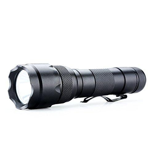Ebilun tactique LED Lampe torche pour la chasse, vélo, escalade, camping et activités de plein air