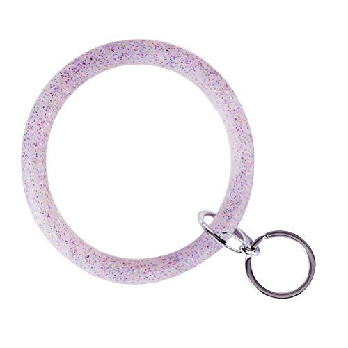 Schlüssel Armband Glitter Schlüsselring Armband Keychain Armreif DIY Ketten Männer Frauen Schlüsselbund Armband Beste Geschenk