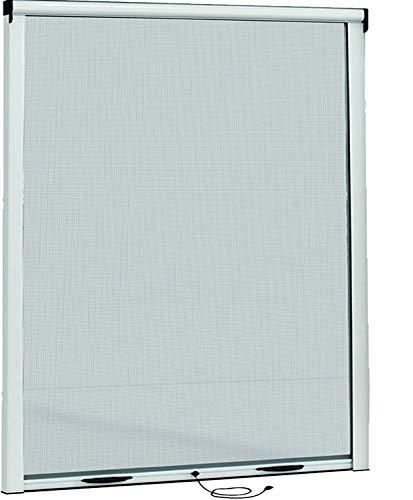 Zanzariere A Rullo Per Finestre Scorrevole Verticale Riducibile 9010 Bianco