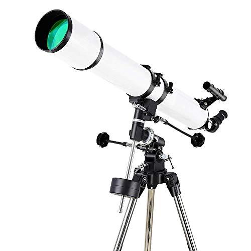 Yanzz 90EQ telescopio de Alta definición de Vista Profesional Espacio Profundo observación de Estrellas Clear dsfhsfd