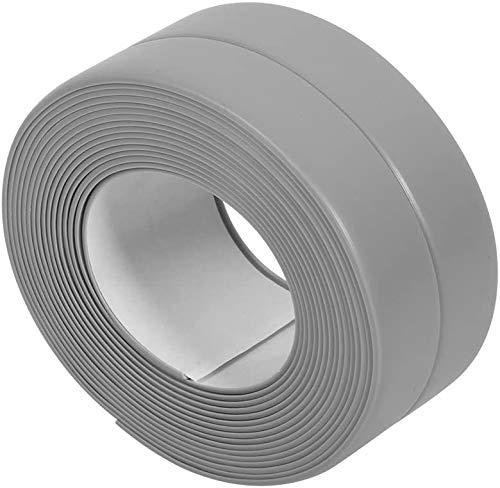 3 Farben 3.2M Länge Dichtung speziell entwickelt, um Sink Tub Edges und Spülen zu verschließen(22mm*3.2M-Grau)