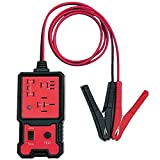 NIUAWASA 12V Electronic Automotive Relay Tester, Car Battery Diagnostic Checker Tools with Clips Relay Tester Automotive Kit for Auto Repairing
