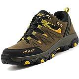 Zapatillas de Trekking para Hombres Zapatillas de Senderismo Botas de Montaña Antideslizantes...