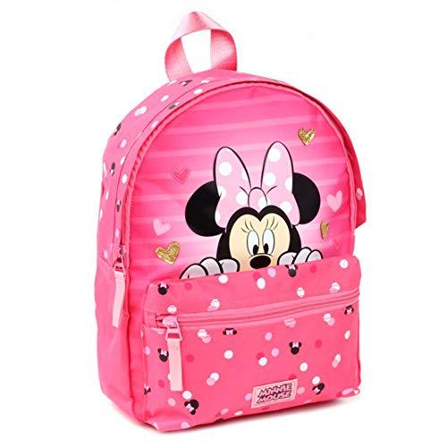 Disney Minnie Maus Rucksack ca. 30 cm Kindergarten Tasche Minnie Mouse