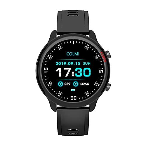 ZOZIZZ Reloj Deportivo Inteligente, Detector Full Touch Fitness Tracker Mensaje de Empuje IP67 Pulsera Deportiva a Prueba de Agua Rastreador