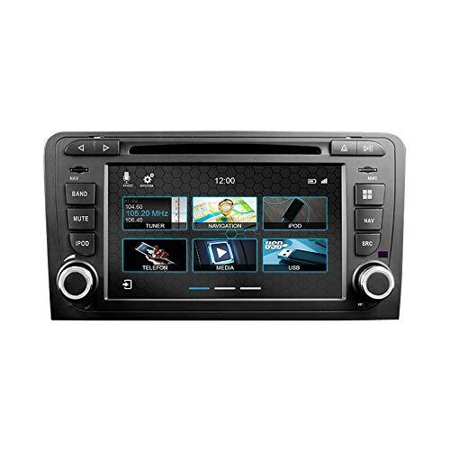 DYNAVIN N7-A3 Autoradio Navigationsgerät für Audi A3 8P 8PA