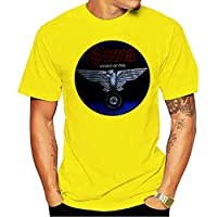 2020 Fashion T-shirt New Cool SAXON Wheels of Sl Rock Band Legend Men's Black Size S-3XL O-Neck Sunlight Men top