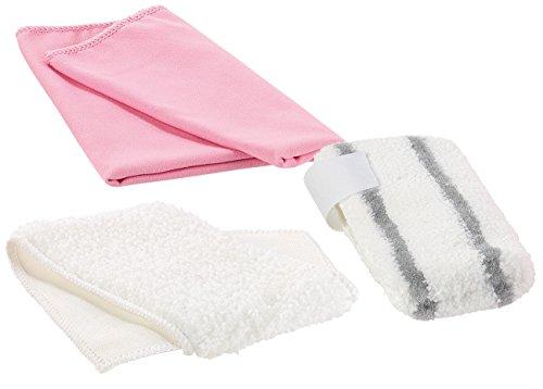 Sichler Haushaltsgeräte Tücher für Dampfreiniger: 3-teiliges Universal-Mikrofaser-Putztuch-Set für Dampfreiniger (Microfaser Putztuch)