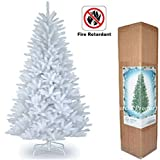 Gift 4 All Occasions Imperial Sapin de Noël Artificiel avec Support en métal Blanc 1,5 m