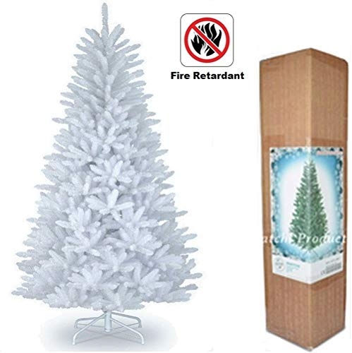 SHATCHI CHRISTMAS TREE WHITE 4FT ARTIFICIAL TREE 230 TIPS