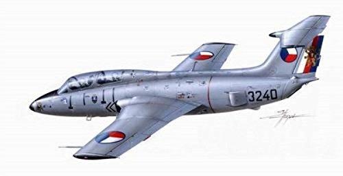 Planet Models Jeu DE 48 124 – Modélisme cm Aero L DE 29 Dauphin