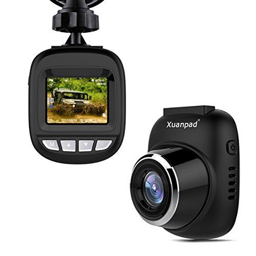 Caméra de Voiture, Xuanpad S3 Mini Dash Cam...