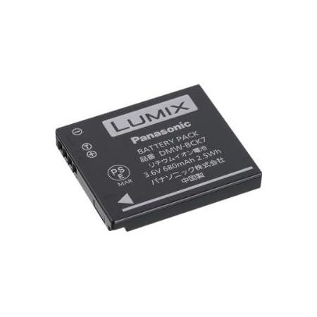 Panasonic Lumix Dmw Bck7e Li Ion Akku Kamera