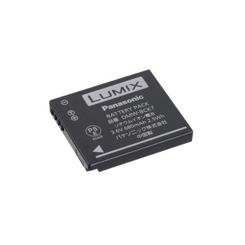 Panasonic LUMIX DMW-BCK7E Li-Ion Akku (geeignet für LUMIX Kameras wie FT30, FT25, FT20, SZ7, SZ1, FS45, FS40, FS37, FS35, FS18, FS16)