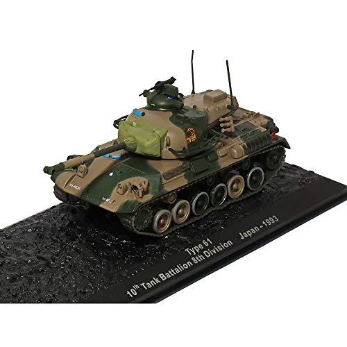 Panzer Type 61 Japan 1993 Die-Cast, Panzermodell Mst1:73, für die Vitrine Panzer | Kampfpanzer | Mini Panzer | Kriegspanzer |