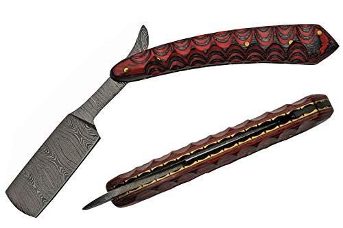 SZCO Supplies Unisex-Erwachsene DM-1250 Rasiermesser, rot, 6 inches