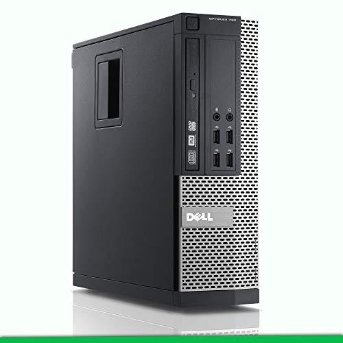 PC Computer Desktop DELL OPTIPLEX 790 SFF, Windows 10 Professional, CPU Intel i5, Memoria Ram 8GB DDR3, Hard Disk 500GB, DVD-ROM, WIFI (Ricondizionato)