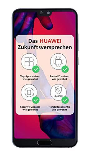 Huawei P20 Pro Smartphone Bundle (15,5 cm (6,1 Zoll), 40/20/8 MP Leica Triple Kamera, 128GB interner Speicher, 6GB RAM, Android 8.1, EMUI 8.1) Blau [Exklusiv bei Amazon] - Deutsche Version
