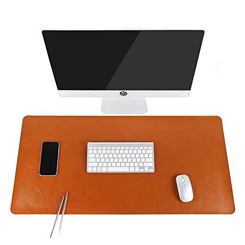 SKRCOOL Gaming Mouse Pad, PU Lederen Office Mouse Pad, Extra Grote Waterdichte Bureau Pad,Laptop Muis Voedsel, Schrijven Protector Voedsel Toetsenbord Pad