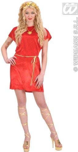 Rode Tuniek Kostuum Groot voor Romeinse Sparticus Fancy Jurk