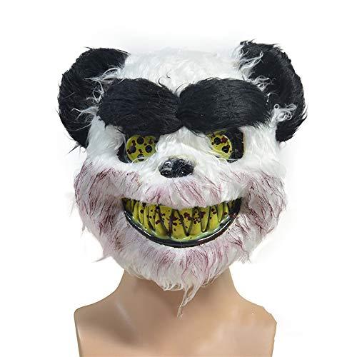 LYMQY Fiesta De Disfraces De Halloween Fiesta De Carnaval Cosplay Peluche De Animales Mscara Completa Realista (Type-E)