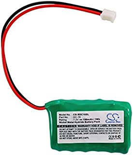 TCHAN Dog Collar Replacement Battery 150mAh Ni-MH Battery for Field FT-100/Trainer SD-400S, PETSAFE 250m PDT20-12471/400m PDT20-10646, SPORTDOG SD-400 Transmitter