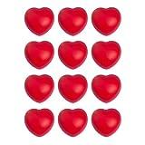 househome - Pelota antiestresante para apretar y amasar, 12 bolas de amasar para terapia de manos, bola antiestrés, para niños y adultos