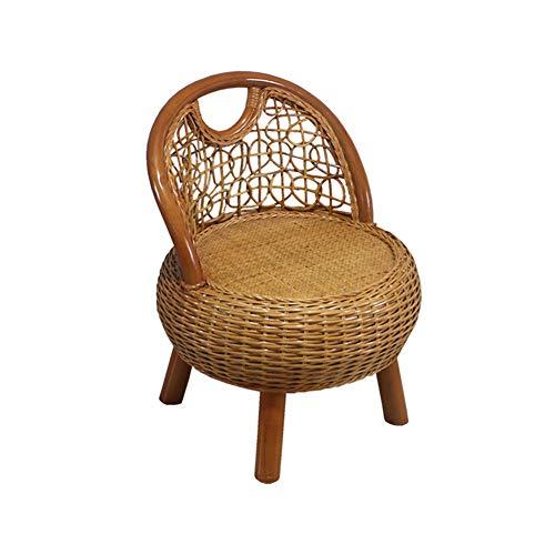 Handgemaakte rotan rieten stoel, natuurlijk ontwerp, multifunctioneel, stevig, duurzaam, comfortabel, geschikt voor woonkamers, familiekamers, bibliotheek of studie