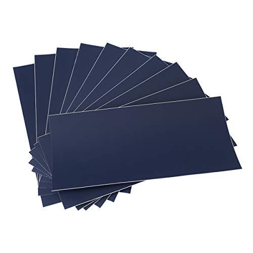 AIEVE 10 Stück Reparatur Folie Nylon Reparatur Patch Flicken Selbstklebend Wasserdicht Reparaturflicken für Zelte Schlauchboot Planschbecken Pool Poolfolie Luftmatratze Markise (Blau)