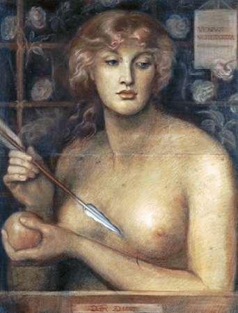 Venus Verticordia Poster Print by Dante Gabriel Rossetti (11 x 14)