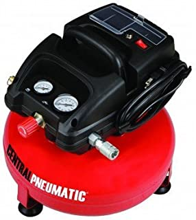 1/3 Horsepower 3 Gallon 100 PSO Oilless Pancake Air Compressor by CENTRAL PNEUMATIC At