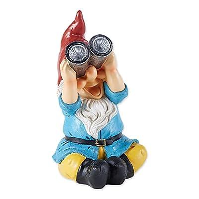Gnome Solar Statue