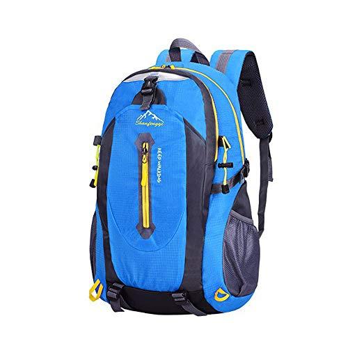 Zaino Escursione Grande Packable Pieghevole Daypack Leggero Outdoor Sport Camping Travel Sport Arrampicata Borsa In Nylon 6 Colori Opzionale (blu)