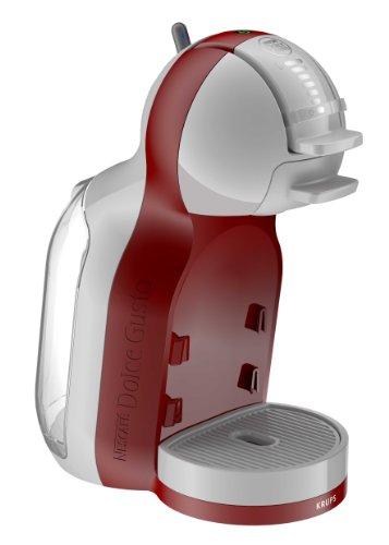 Krups Nescafé Dolce Gusto Mini Me - Máquina espresso, 1500 W, 0.8 L, rojo