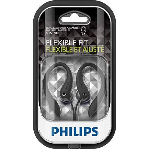 Philips SHS3200/10 Auriculares con gancho para la oreja (negro)