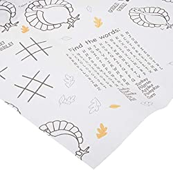 Creative Converting Thanksgiving Kids Activity Paper Tablecover