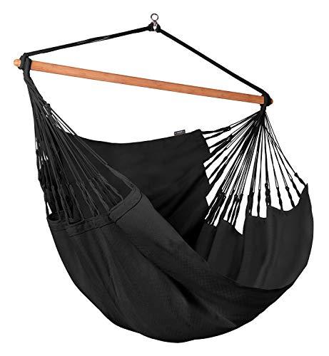 LA SIESTA Habana Onyx - Organic Cotton Kingsize Hammock Chair