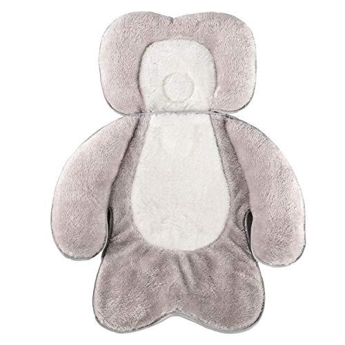 DERCLIVE Cojín de cochecito de bebé recién nacido bebé cabeza cuerpo apoyo cojín protector